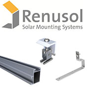 Renusol Solar PV roof mounting kit