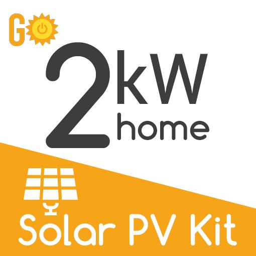 2kW Solar PV Kit