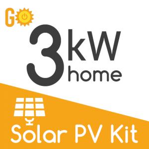 3kW Solar PV kit